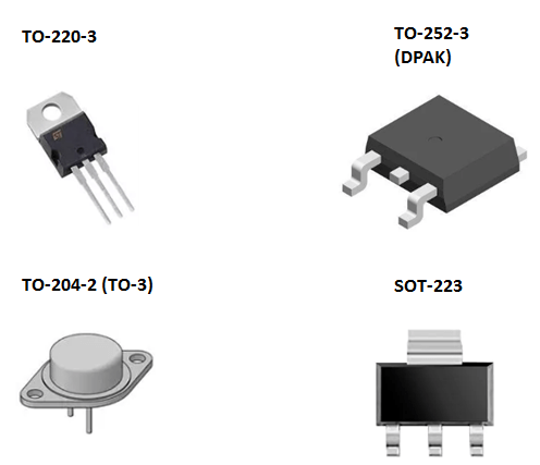 Power packages for NPN transistor