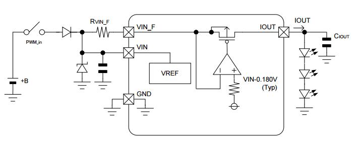 automotive LED driver circuit design