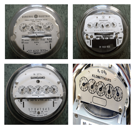 analog electric meters