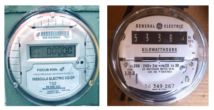digital electric meters