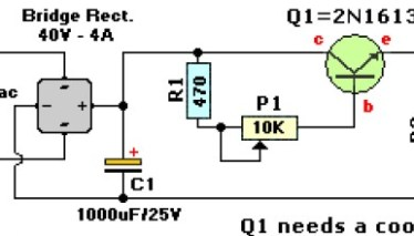 0-60V / 0-2A Variable Power Supply | Electronic Schematic