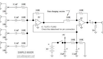 Astonishing Audio Mixer Vu Meter Electronic Schematic Diagram Wiring Digital Resources Nekoutcompassionincorg