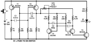 Toy Car Remote Control | Electronic Schematic Diagram