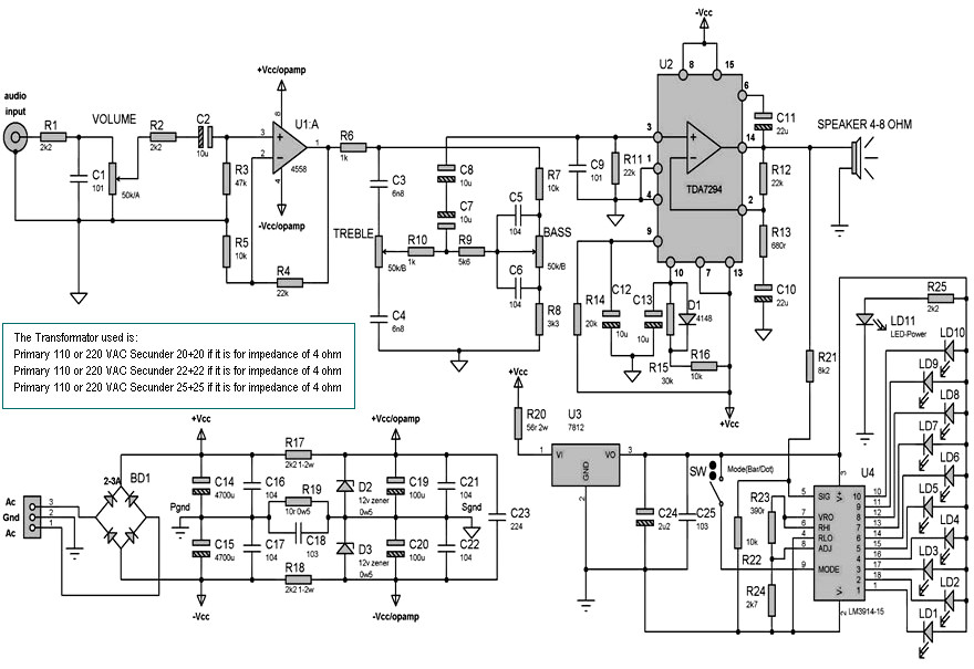 power amplifier ic 1000w transistor audio amplifier circuit diagram tda7498 100w 100w dual channel
