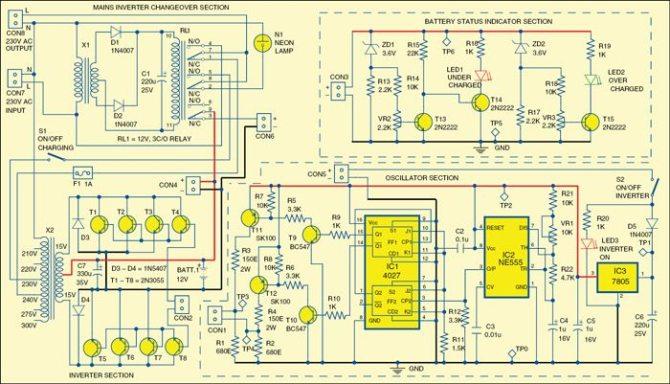 ups circuit diagrams with explanation pdf  125 amp main