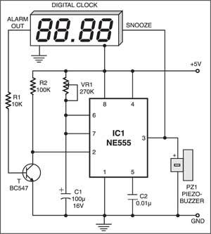 Ideas About Alarm Clock Circuit