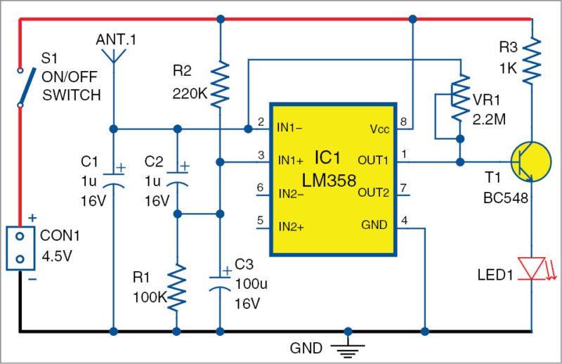 Device Control Using Mobile Phone Circuit Diagram 2020