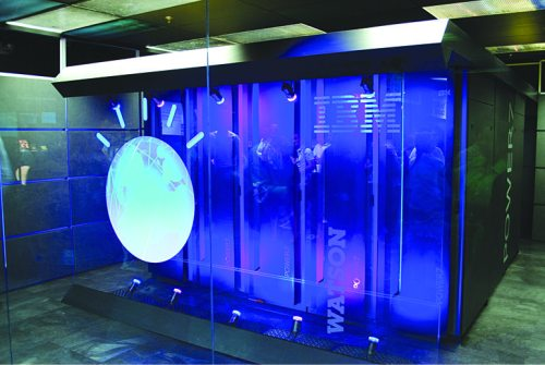IBM Watson (Image courtesy: wikimedia commons)
