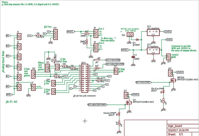 The full schematic