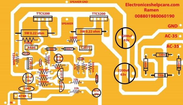 Transistor Subwoofer Circuit Diagram Pdf
