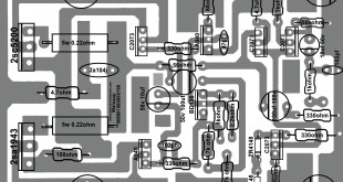 How to make transistor amplifier? using 2 transostor, electronics