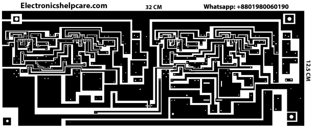 TDA7294 Amplifier Circuit Diagram RMS 300W back