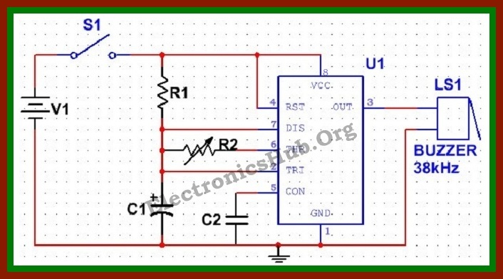 Simple Electronic Mosquito Repellent Circuit