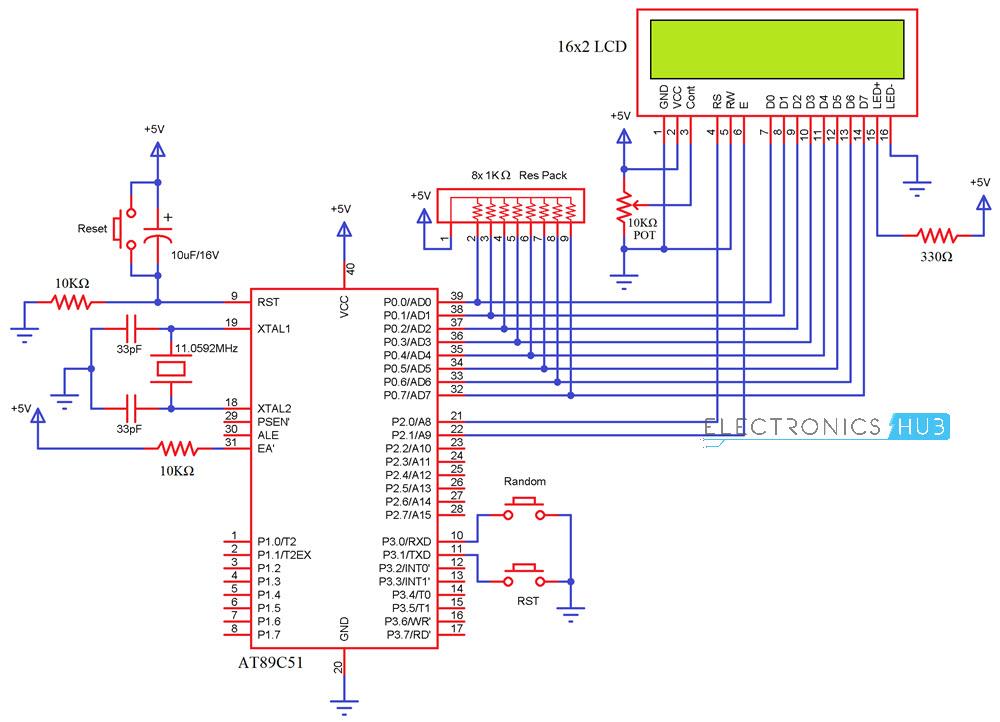 Random Number Generator Using 8051 Microcontroller