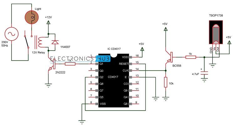 Remote Control 12v Dc Switch Wiring Diagram