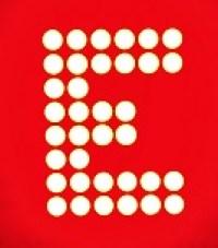 8x8 matrix printed E