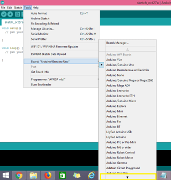 No ESP32 boards find in the Arduino IDE Tools menu (Windows PC).