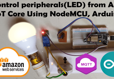 Controlling-led-from-aws-using- nodeMCu-ArduinoIDE