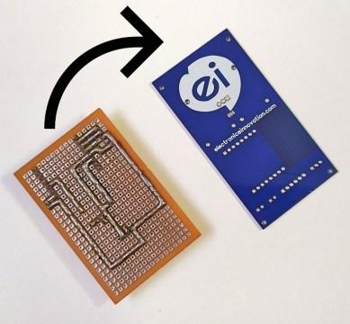 Convert prototype to PCB