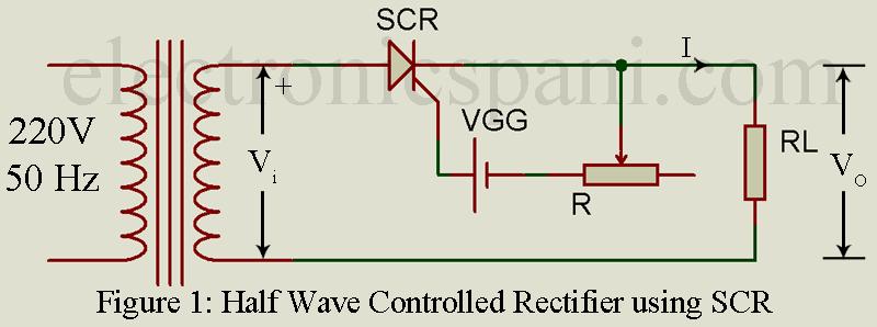 Halfwave Thyristor Control Circuit Diagram Tradeoficcom - Fav Wiring on