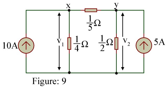 Nodal Analysis Example with Solution - Electronics Tutorials