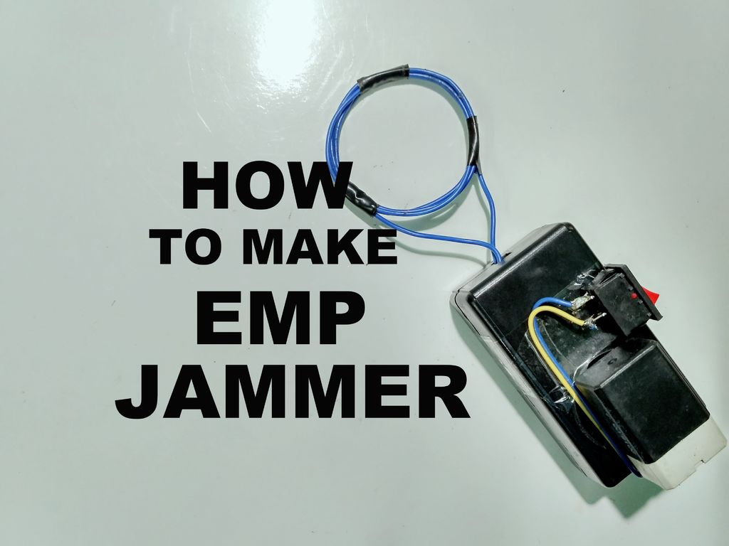 How To Make Emp Jammer Electronics Projects Hub Mobile Circuit Diagram