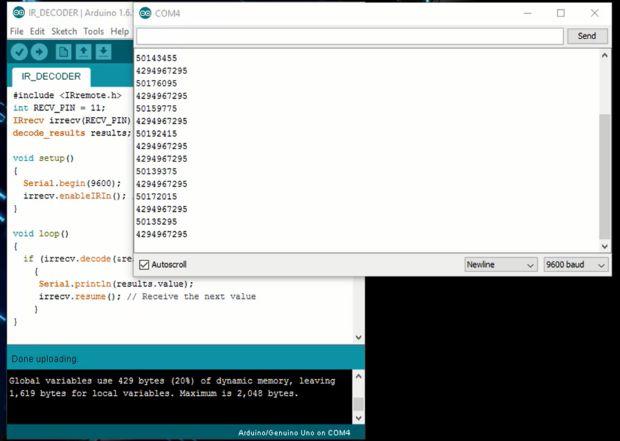 How to make IR Remote Decoder using Arduino - Electronics