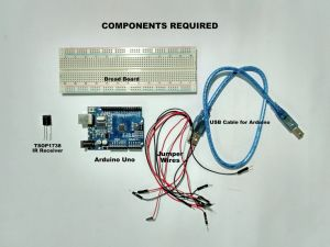 ir remote decoder components