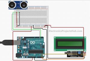Distance Measurement using Arduino Ultrasonic Sensor