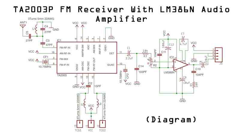 Groovy How To Make Fm Radio Circuit Electronics Projects Hub Wiring Digital Resources Funapmognl