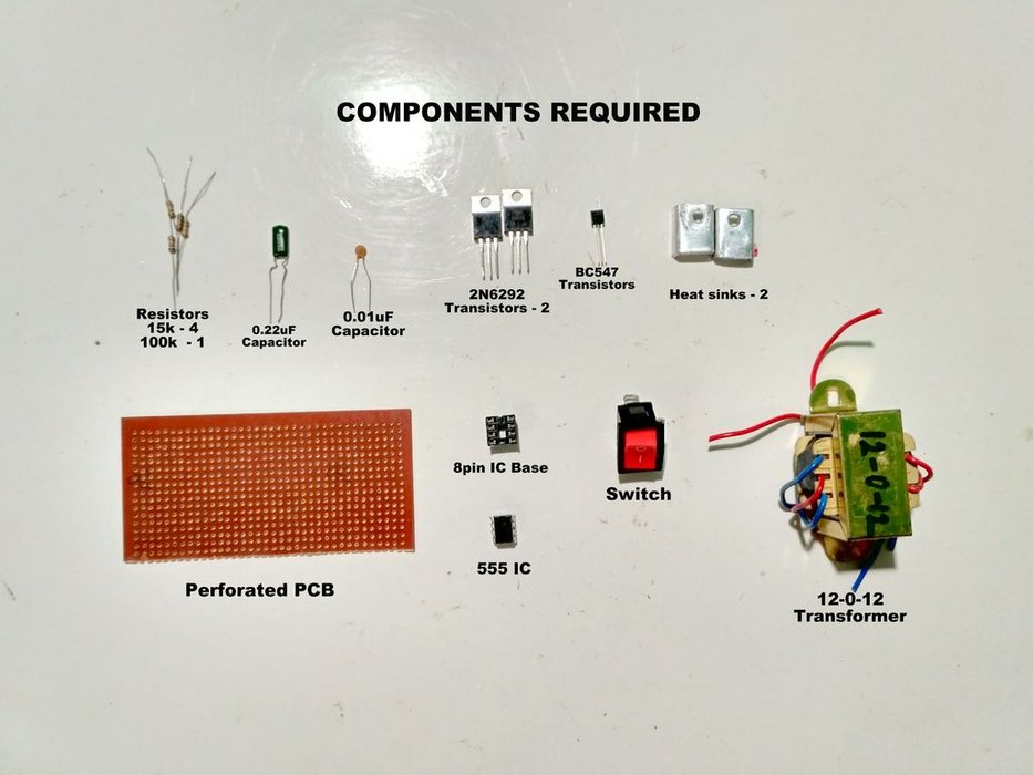 inverter components?resize=810%2C608&ssl=1 how to make 12v to 220v inverter circuit electronics projects hub