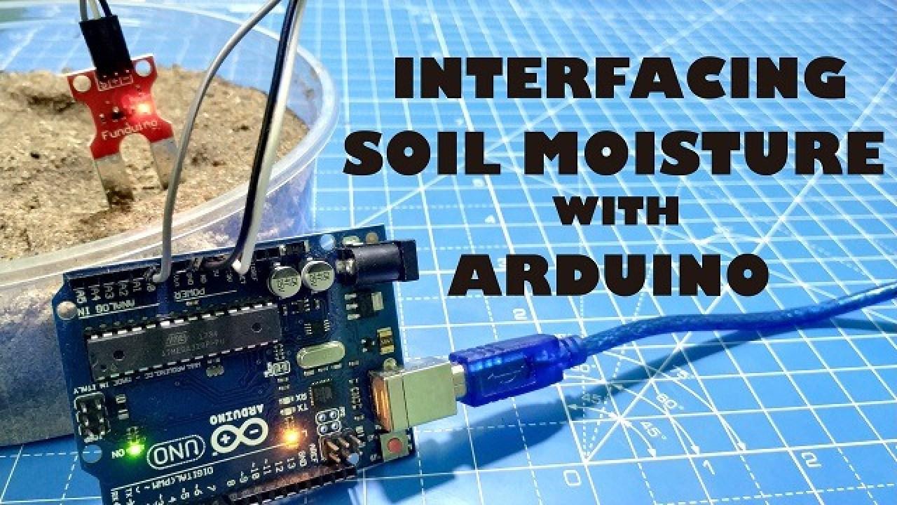 Arduino Soil Moisture Sensor - Electronics Projects Hub