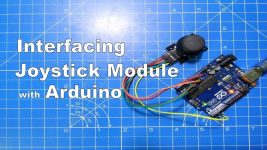 joystick module with arduino