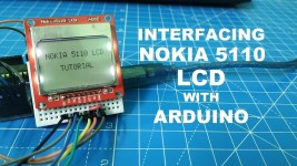 interfacing nokia 5110 lcd with arduino