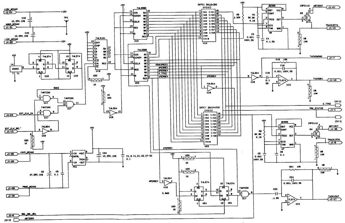 Fo 1 Signal Generator Schematic Diagram Sheet 1 Of 4