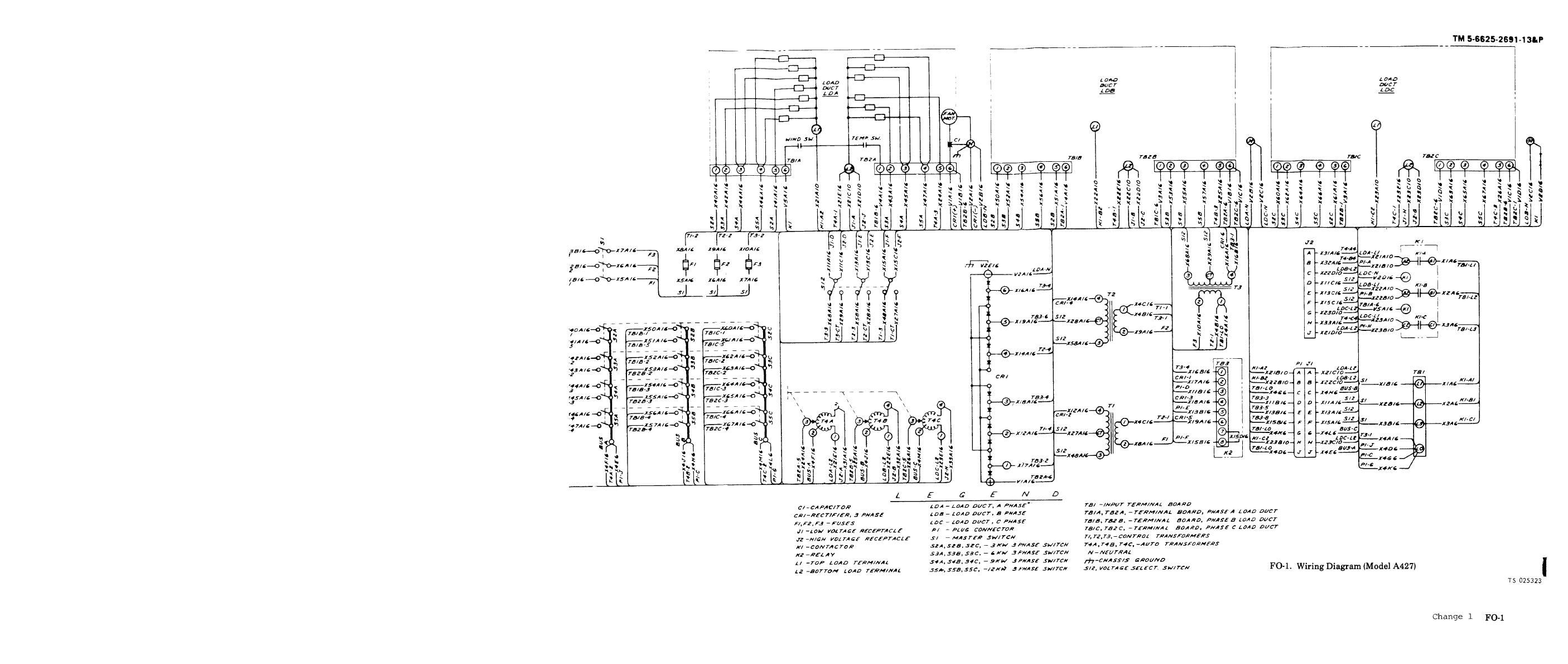 Fo 2 Wiring Diagram Model A427b