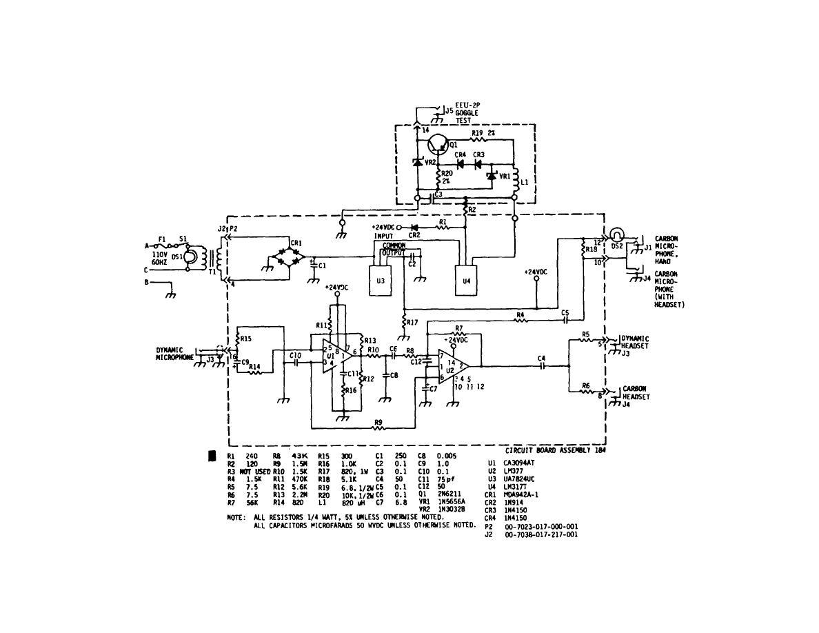 Figure 6 1 Schematic Diagram Of Oxygen Mask Headset