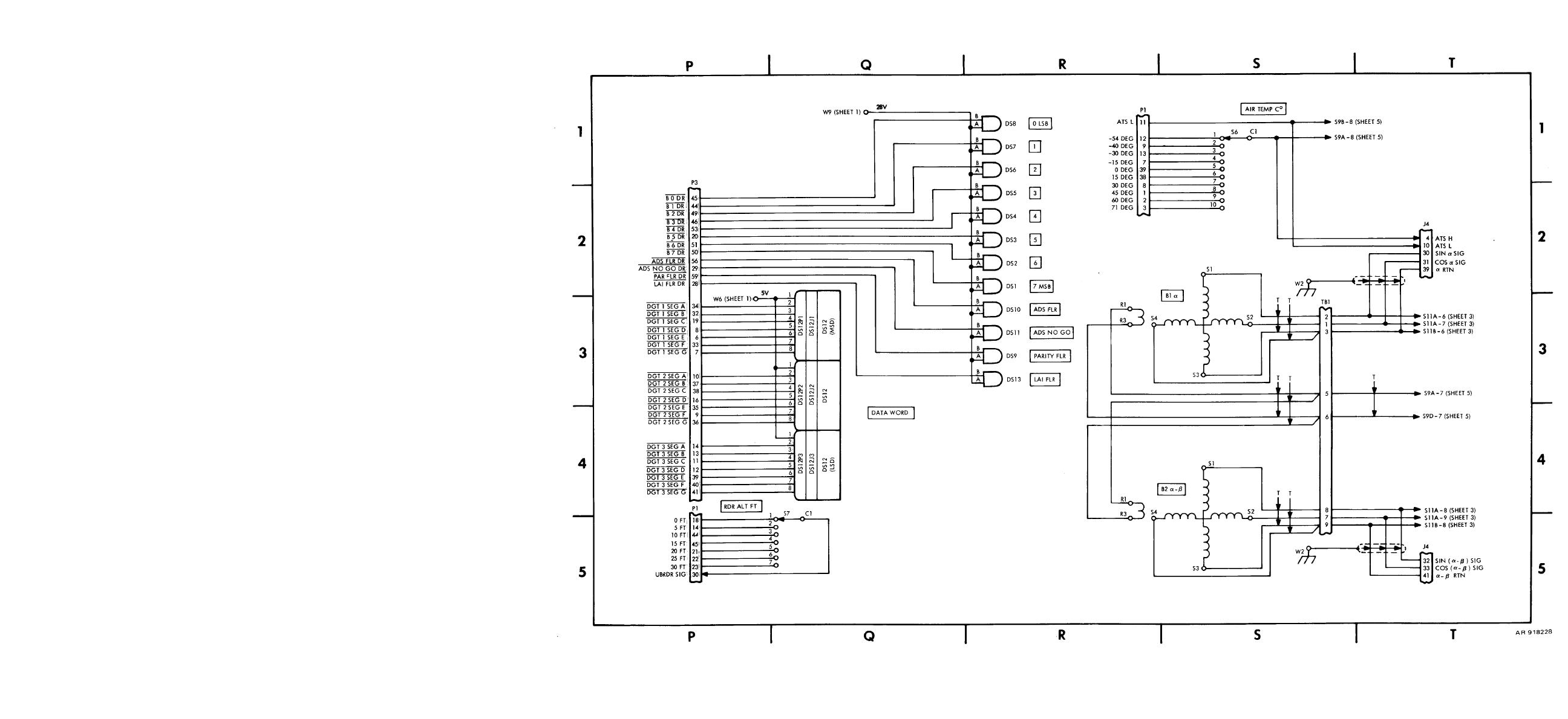 Figure Fo 1 Wiring Schematic Sheet 4 Of 5