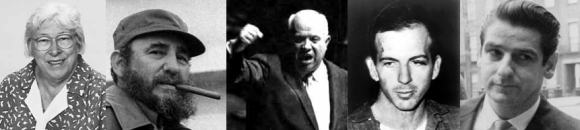 O'Hair/Castro/Kruschev/Oswald/DeSalvo