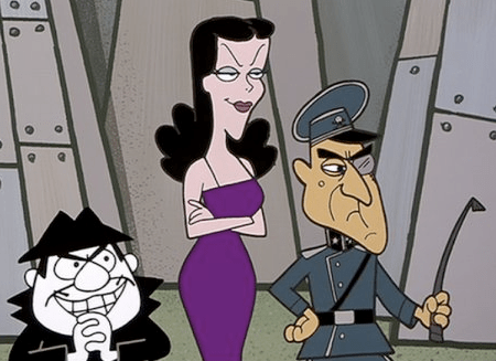 "Characters from ""The Rocky and Bullwinkle Show"""