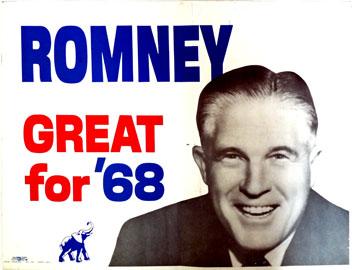 G. Romney Placard