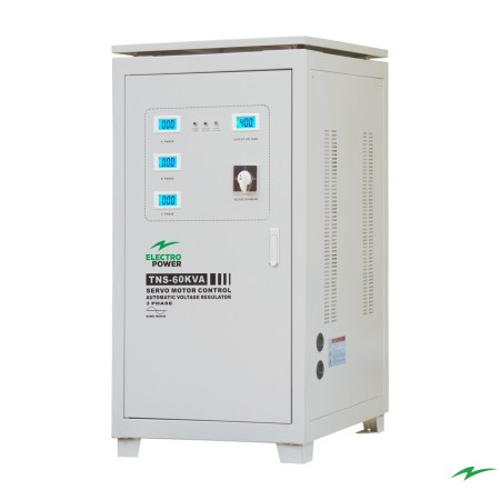 Stabilizator tensiune Electropower EP-TNS-60kVA-(48000W)-400V