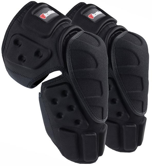 Наколенники защитные для велоспорта и мотогонок велозащита защитная экипировка велосипедиста