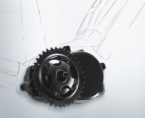 Multi Speed Assist System X1 кареточный электромотор для велосипеда от Panasonic