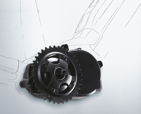 Multi Speed Assist System X1 кареточный электромотор для велосипеда