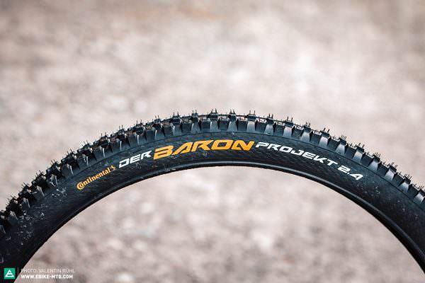Continental Der Baron 2.4 Projekt покрышки велопокрышки горный велосипед