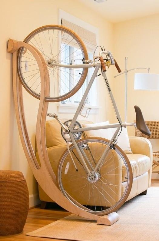 Велосипед и интерьер