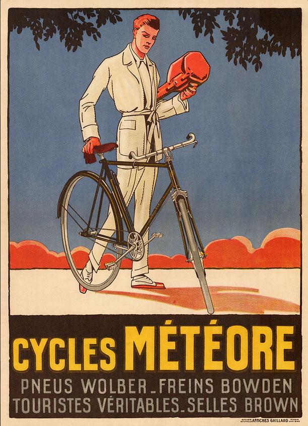 мужчина постер реклама велосипеды