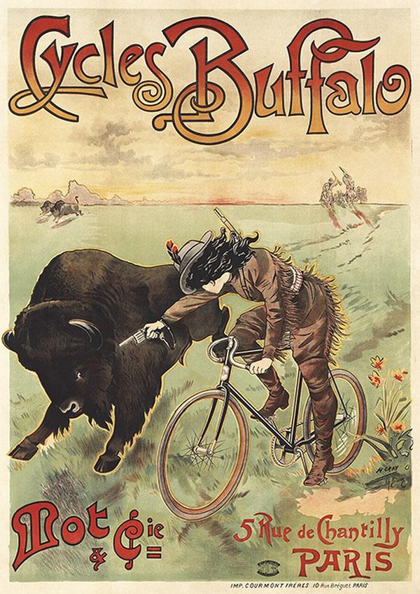 реклама постер велосипед девушка велоспорт