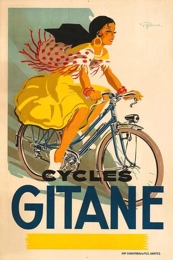 велосипед постер